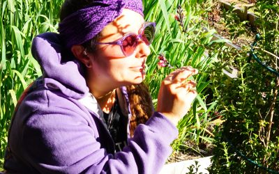 Connecting with Nature through a Sensory Experience